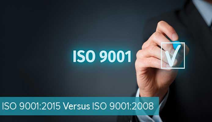 استاندارد ۹۰۰۱ و تفاوت اساسی ISO9001:2008 با ISO9001:2015